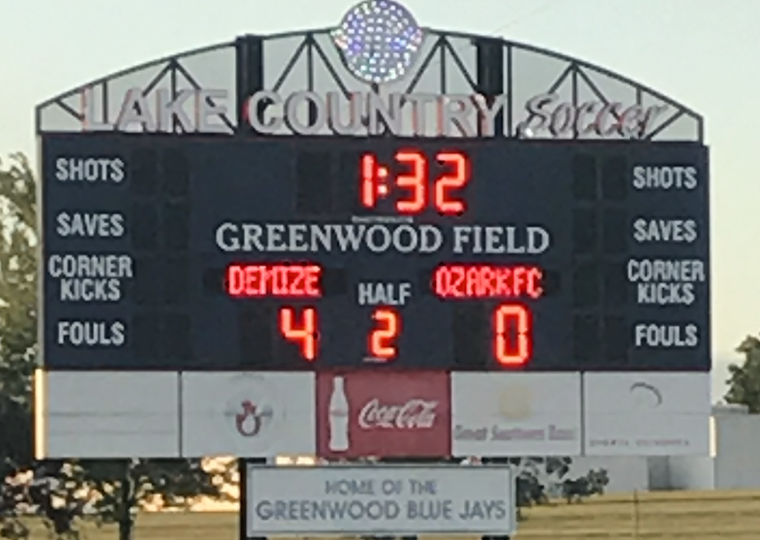 Demize NPSL earns much needed win over Ozark FC