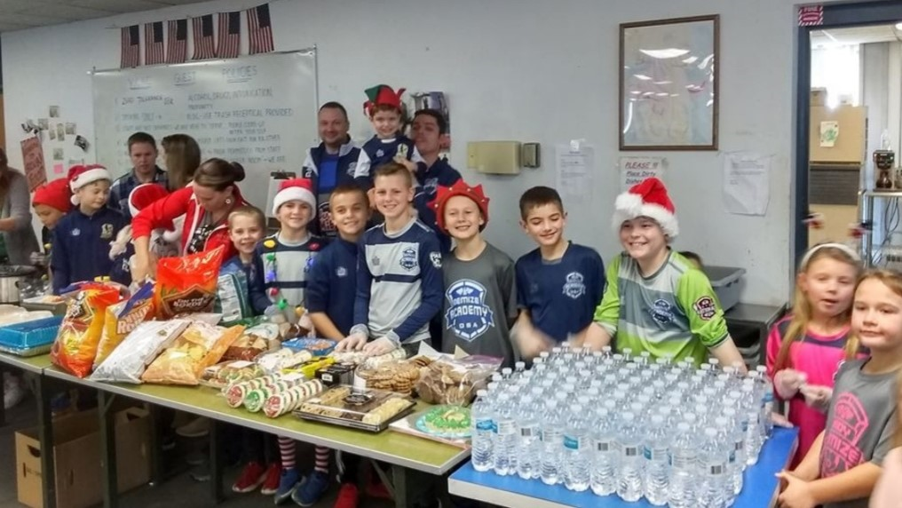Demize Academy Serves for Christmas