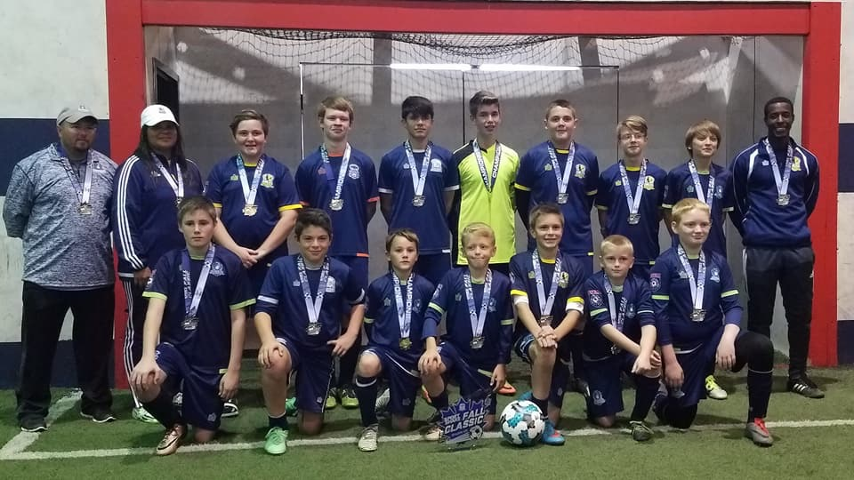 Three Demize Academy teams claim top honors at Sport Shake Fall Classic