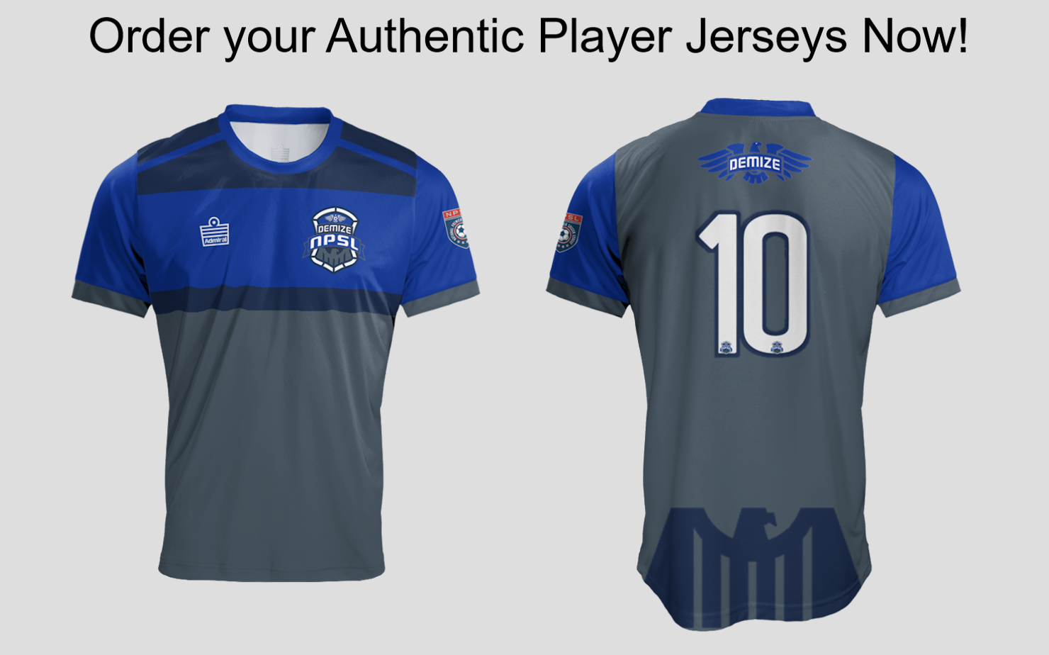 2017 Demize Authentic NPSL Jersey Special Offer