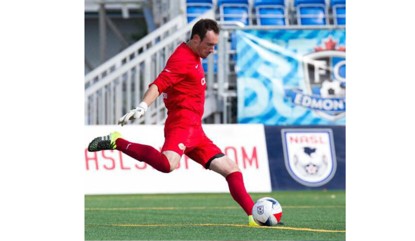Former Demize Player Trevor Spangenburg at PRFC in NASL