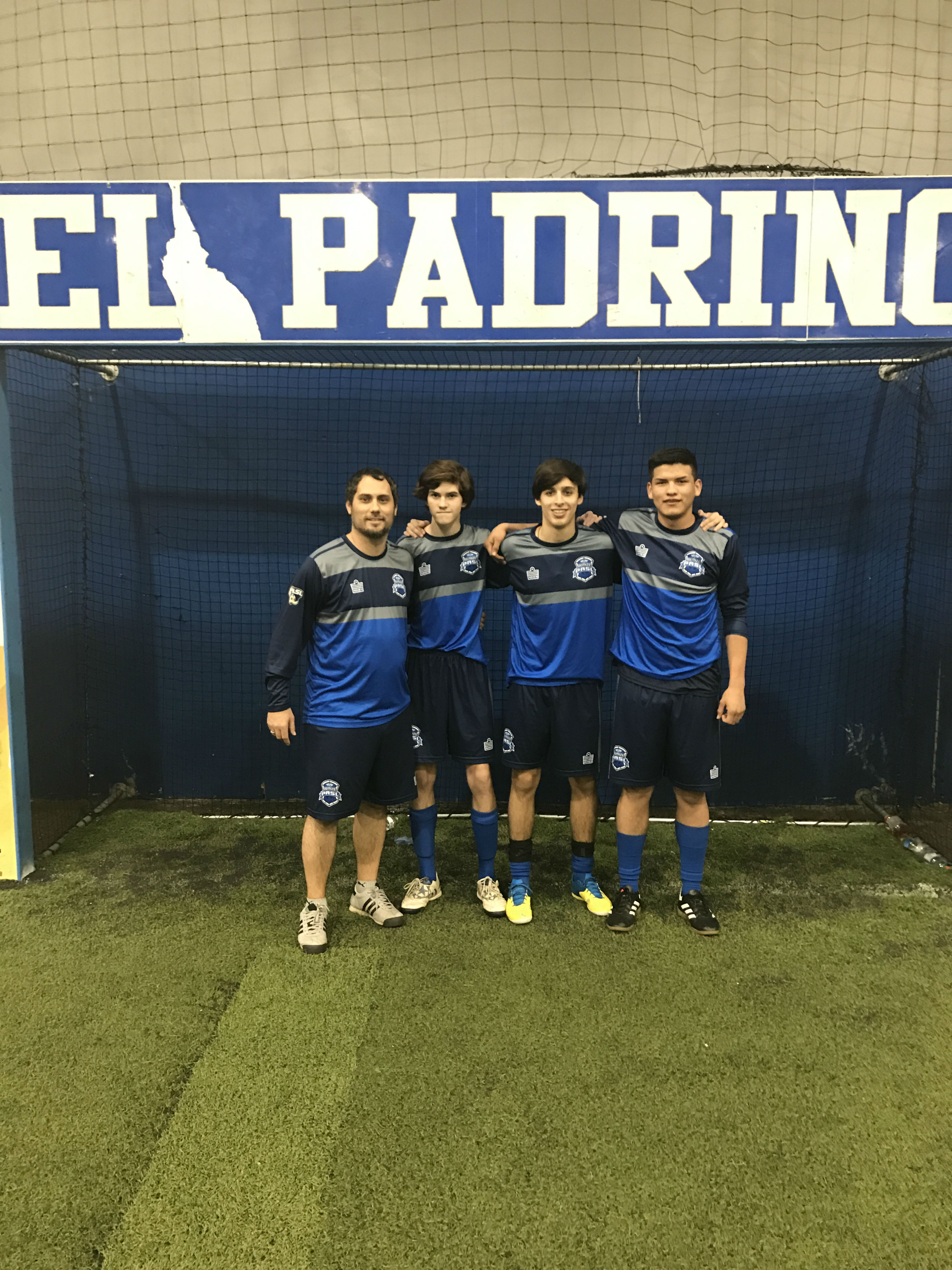 Demize Academy High School Boys earn experience with the PASL team